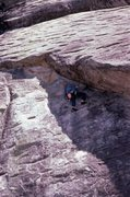 Rock Climbing Photo: Jeff Lauschey getting it done on Way Rad climbing ...