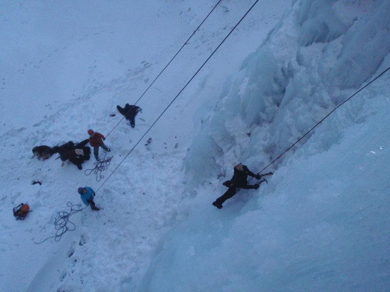 Rock Climbing Photo: Climbing P.O.S.