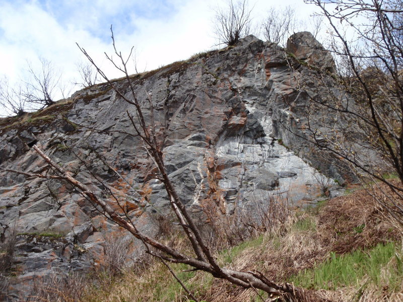 Rock Climbing Photo: What is to become Lookout Rock!!