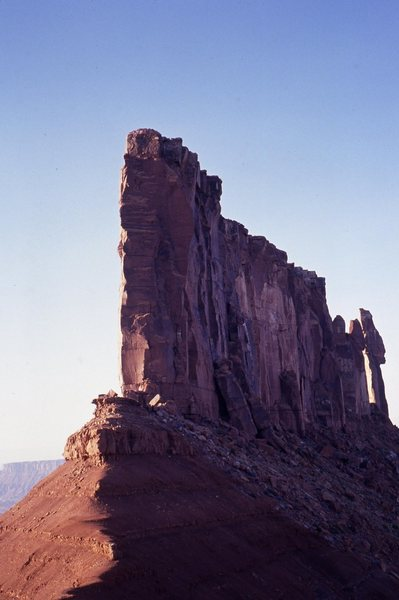 Rock Climbing Photo: The Priest, Nuns & Rectory