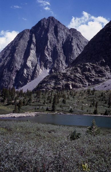 Rock Climbing Photo: Silex from Trinity Lake.