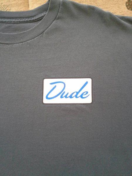Rock Climbing Photo: Sacred Dude shirt.