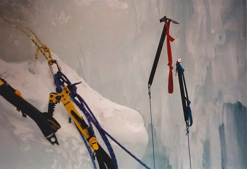 Rock Climbing Photo: Bret Ruckman always had the latest, greatest tools...