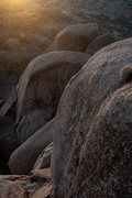 Rock Climbing Photo: Golden hour in the Gardens. Beautiful area. WWR, O...