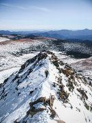 Rock Climbing Photo: Eddie about halfway up the ridge.