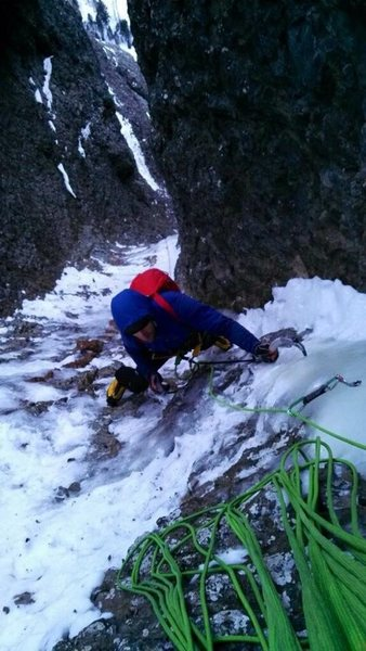 Rock Climbing Photo: Chad Umbel pitch 7.