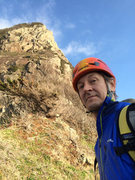 Rock Climbing Photo: After the climb. Nothing left to do but smile, smi...