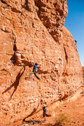 Rock Climbing Photo: Capt'n Rehap - 13a - Dyno.  If that move was at th...