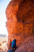 Rock Climbing Photo: Dancing Fox Topo Photo