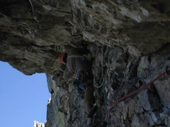 Rock Climbing Photo: Heading out on P2.