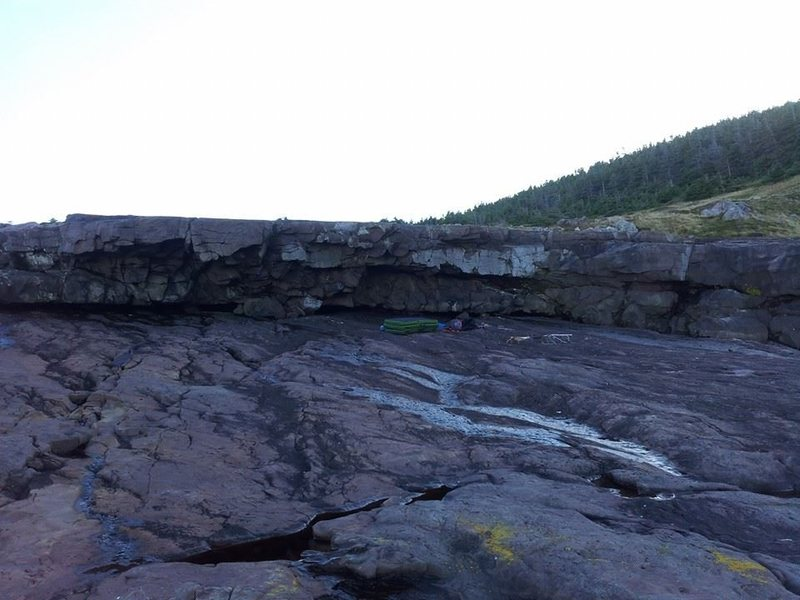 Pumphouse bouldering area