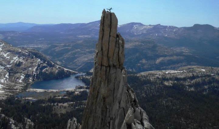 Me on the East Pinnacle