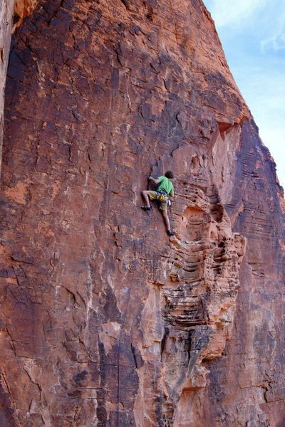 passing the crux