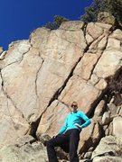 Rock Climbing Photo: Fun crack!