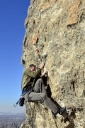 Rock Climbing Photo: Working through the initial bouldery moves on the ...