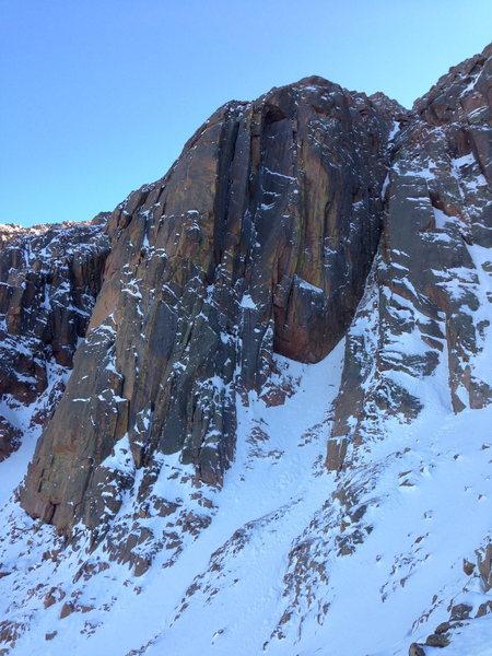 Rock Climbing Photo: The Corinthian Column, October 2013. Definitely so...