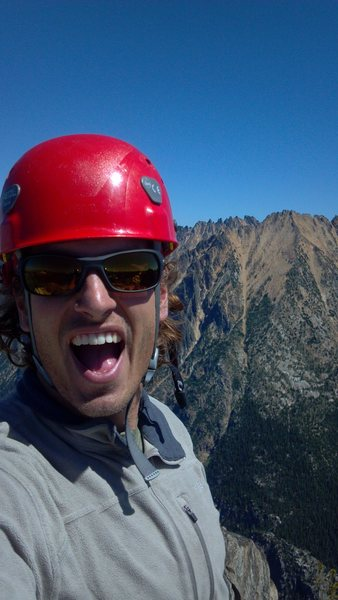 Rock Climbing Photo: Top of Libery Bell near Washington Pass