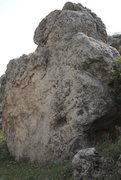 Rock Climbing Photo: Limestone conglomerate, I think. Looks almost like...