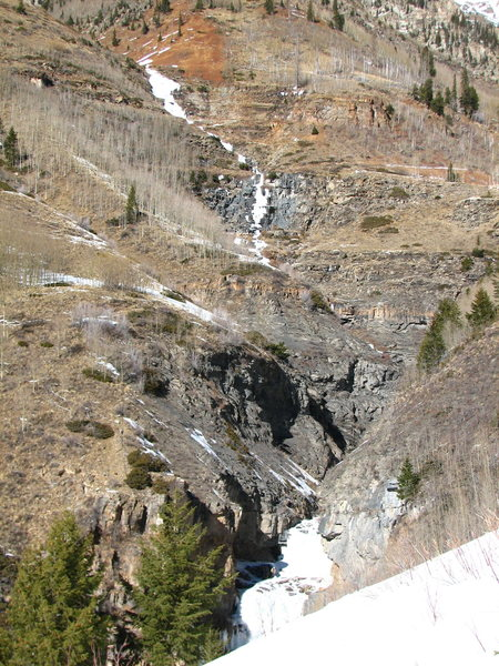 Deep Creek Staircase, 1-18-14.
