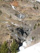 Rock Climbing Photo: Deep Creek Staircase, 1-18-14.