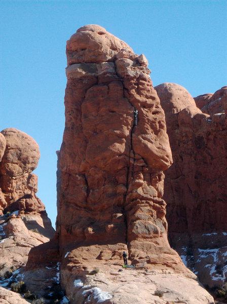 A January ascent