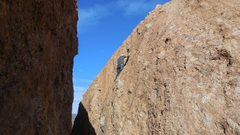 "Rock Climbing Photo: The upper slab of ""Bald-Headed Men."""