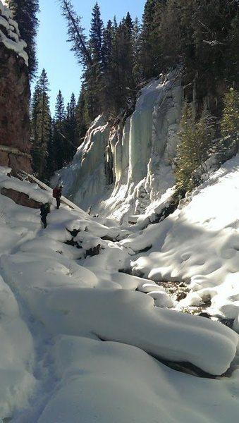 Rock Climbing Photo: Bear Creek Gorge - January, 2014.