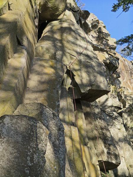 Rock Climbing Photo: Grace and Danger