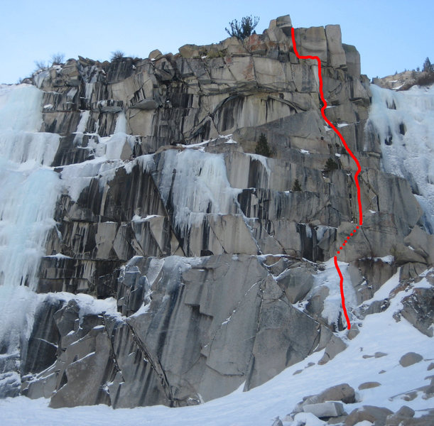 Rock Climbing Photo: Scrappy's Child.