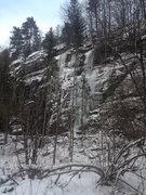 Rock Climbing Photo: Looking at the crag