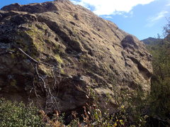 Rock Climbing Photo: Mentone Meteorite