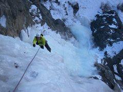 Rock Climbing Photo: Just a few more feet.