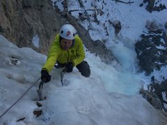 Rock Climbing Photo: Near the top - Candlestick.