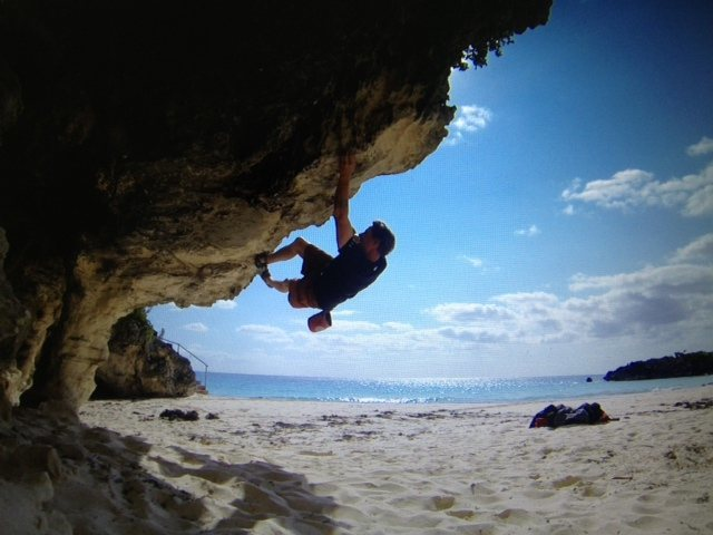 Rock Climbing Photo: Bouldering in Bermuda