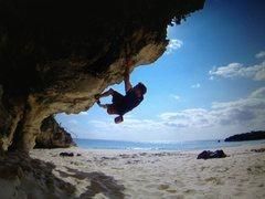 Rock Climbing Photo: Bouldering in Bermuda