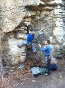 Rock Climbing Photo: TR session on Cubik