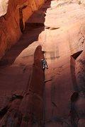 Rock Climbing Photo: 213blc leading