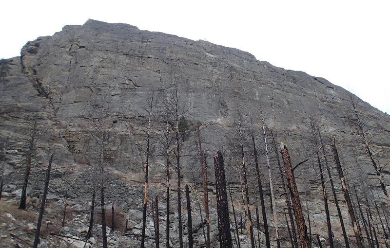 Rock Climbing Photo: Main Wall