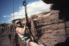 Rock Climbing Photo: Selfie, first ascent