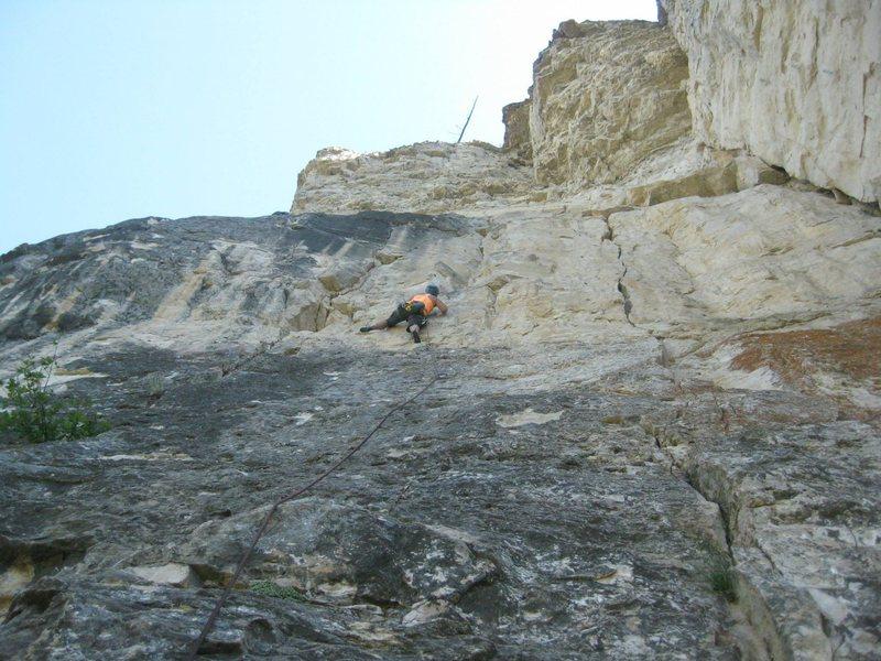 Rock Climbing Photo: Olivia Zimmerman on Himalayback