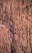 Rock Climbing Photo: pitch 2 hook