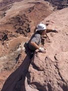 Rock Climbing Photo: Strappo, reaching the summit