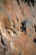 Rock Climbing Photo: Michael Gilbert, P1 Le Toit.
