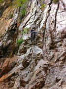 Rock Climbing Photo: 5.8?