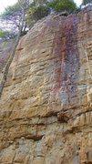 Rock Climbing Photo: Psycho Spasm 13a.