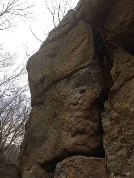 Rock Climbing Photo: North Frederick Watershed