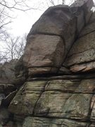 "Rock Climbing Photo: North Frederick Watershed - ""Gem Arete"""