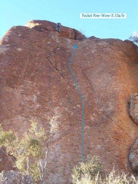 Rock Climbing Photo: Pocket Pow-Wow (January 2014)
