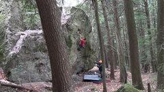 Rock Climbing Photo: Tim Deroehn sends The Big Short