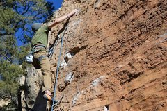 Rock Climbing Photo: I think this was on the lower part of Staying Powe...